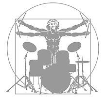 da Vinci percussion lines Photographic Print