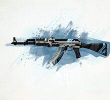 CS:GO AK47 Vulcan HQ by Dhaxina