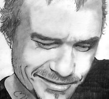 tribute to Heath Ledger 1 by Kim Feenstra (not the model)