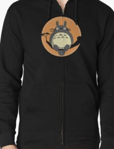 My Neighbour Totoro Zipped Hoodie