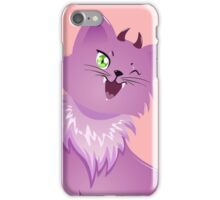 Pink Monster Cat For Halloween iPhone Case/Skin