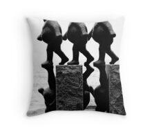 3 Wise Men Throw Pillow