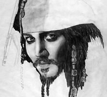 Jack Sparrow by Kim Feenstra (not the model)