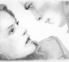 Edward and Bella by Kim Feenstra (not the model)