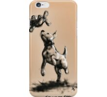 I'll save you teddy iPhone Case/Skin