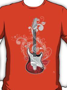 The flower guitar  T-Shirt
