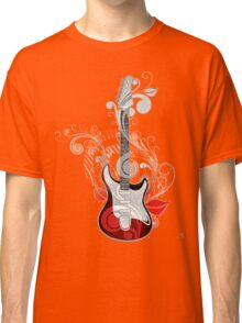 The flower guitar  Classic T-Shirt