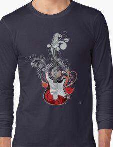 The flower guitar  Long Sleeve T-Shirt