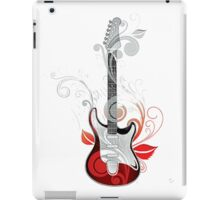 The flower guitar  iPad Case/Skin