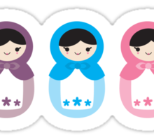Matryoshka Dolls Sticker