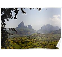 Simien View Poster