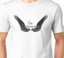 Supernatural - I'm Considering Disobedience  Unisex T-Shirt