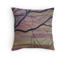 harvest skys Throw Pillow