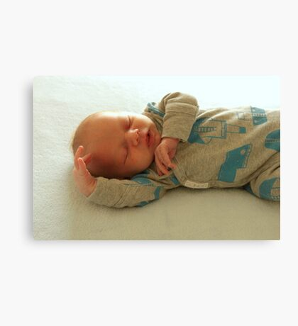 Baby Dancin Canvas Print