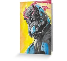 Darkseid Greeting Card