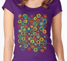 Target Cluster Women's Fitted Scoop T-Shirt