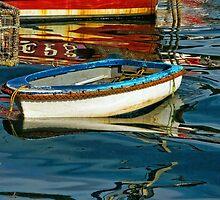 Caught In The Swirls ~ Lyme Regis Harbour by Susie Peek