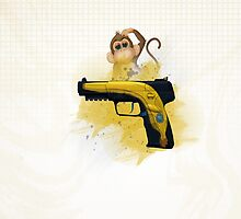 CS:GO Five-Seven Monkey Business by Dhaxina