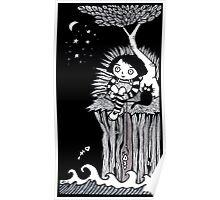 The Eerie Empty Ocean Poster
