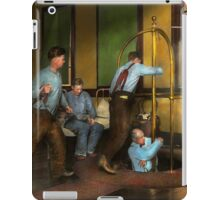 Fireman - The firebell rings 1922 iPad Case/Skin