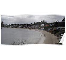 seaside living at Opossum Bay Poster