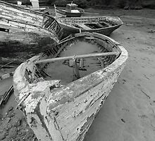 Dinghy, Conil, Spain 2011 by Timothy Adams