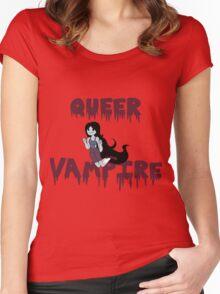 queer vampire Women's Fitted Scoop T-Shirt
