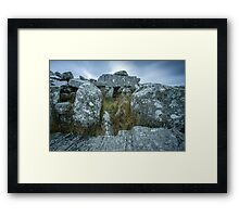 Cloughanmore Court Tomb, Glencomcille Framed Print