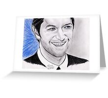 Richard Armitage's smile Greeting Card