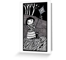 The Dead Wind Downs Greeting Card