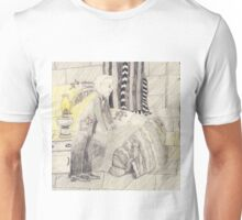 Making The Bed In The Castle Bedroom Unisex T-Shirt