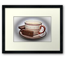 Tea and Biscuits Framed Print