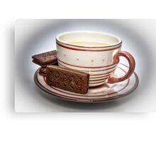 Tea and Biscuits Metal Print
