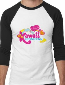 Kawaii Men's Baseball ¾ T-Shirt