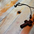 Wooden Cross of my Heart by Caites