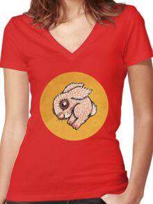 Fluff Women's Fitted V-Neck T-Shirt