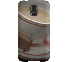Break Time - Have some tea and biscuits Samsung Galaxy Case/Skin