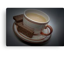 Break Time - Have some tea and biscuits Canvas Print