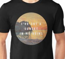 sunset in my veins Unisex T-Shirt