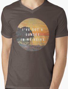 sunset in my veins Mens V-Neck T-Shirt