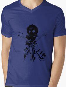 Flcl black Mens V-Neck T-Shirt