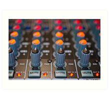Mute that Synthesizer Sound Art Print
