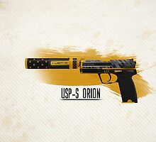 CS:GO USP-S Orion HQ by Dhaxina