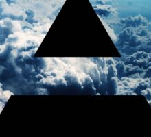 Triad sky Sticker