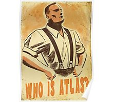 BioShock – Who is Atlas? Poster