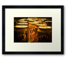 We All Stand Out  Framed Print