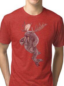 Space Walrus Tri-blend T-Shirt