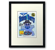 HEISEN-BERRY Framed Print
