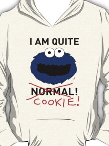 COOKIE MONSTER (BLACK TEXT) T-Shirt