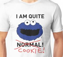 COOKIE MONSTER (BLACK TEXT) Unisex T-Shirt
